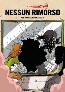 Copertina antologia a fumetti Nessun Rimorso Genova 2001-2021